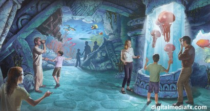 Destination Atlantis Concept Art