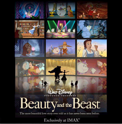 IMAX Beauty and the Beast Poster