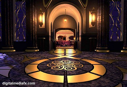 Palace Hallway from Delgo: A Hero's Journey