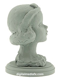 Snow White Side View Maquette