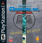Monsters, Inc Scream Team Playstation Game