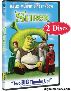 Shrek DVD